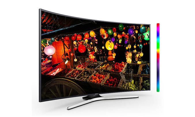 Tivi led Samsung UA49MU6303KXXV màu sắc hiển thị sinh động