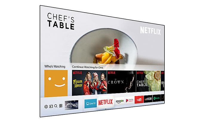 Smart tivi Samsung 43 inch UA43NU7100KXXV kết nối đa dạng, nhanh chóng