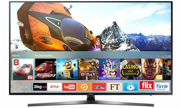 Trải nghiệm thế giới game trên Smart Tivi 4K Samsung 65 inch