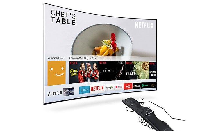 Tivi Led Samsung 65 inch UA65MU6500KXXV có giao diện đơn giản, thân thiện