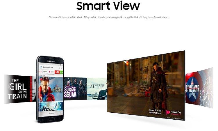 Chia sẻ dữ liệu dễ dàng ngay trên tivi LED Samsung 55 inch UA55MU6100KXXV