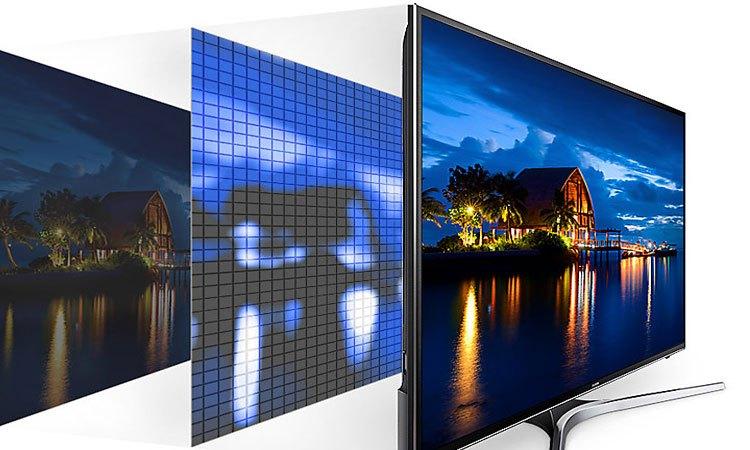 Tivi Led Samsung 40 inch UA40MU6100KXXV có độ tương phản ấn tượng