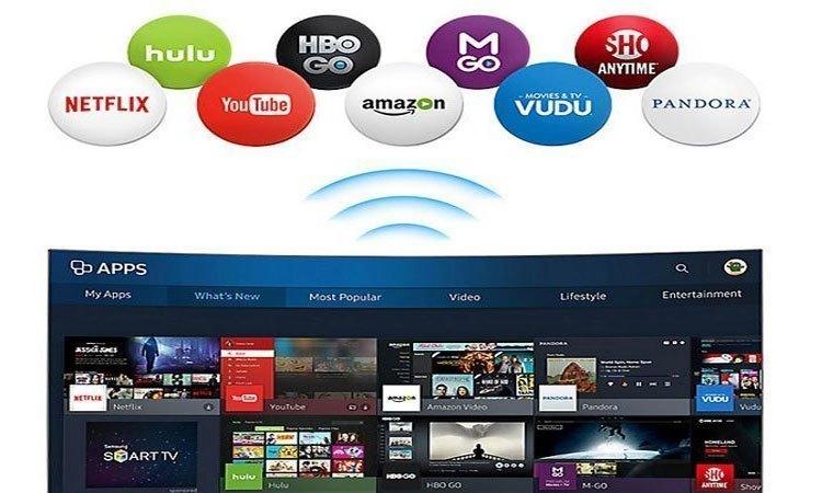 Kết nối wifi và mạng LAN ngay trên Tivi Led Samsung 40 inch UA40MU6400KXXV