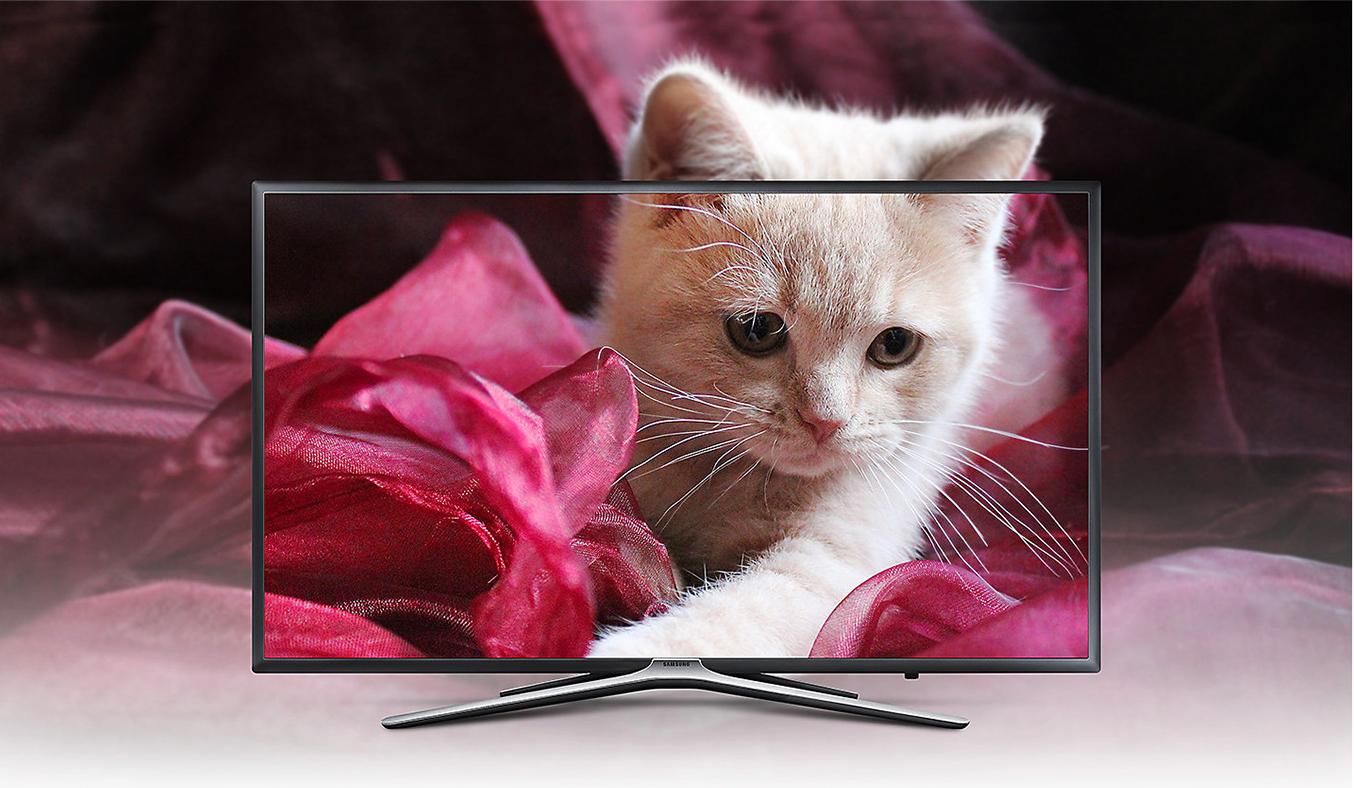 Tivi LED Samsung Full HD UA43M5500AKXXV thiết kế hiện đại
