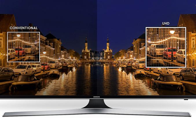 Tivi LED Samsung 50 inch UA50MU6100KXXV có thiết kế hiện đại và ấn tượng