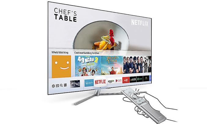 Chia sẻ dữ liệu dễ dàng ngay trên tivi LED Samsung 50 inch UA50MU6100KXXV