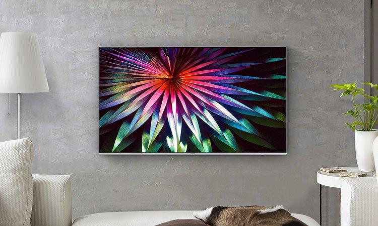 Tivi Premium UHD Samsung 65 inch UA65MU7000KXXV thiết kế với giải pháp giấu dây tinh tế