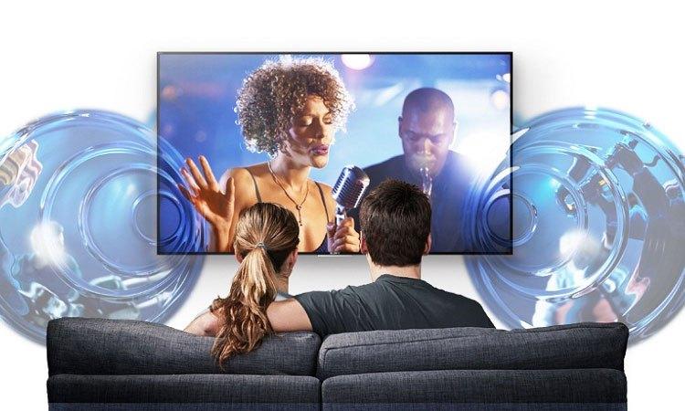 Tivi Premium UHD Samsung 65 inch UA65MU7000KXXV có vòm âm thanh sống động, cực chất