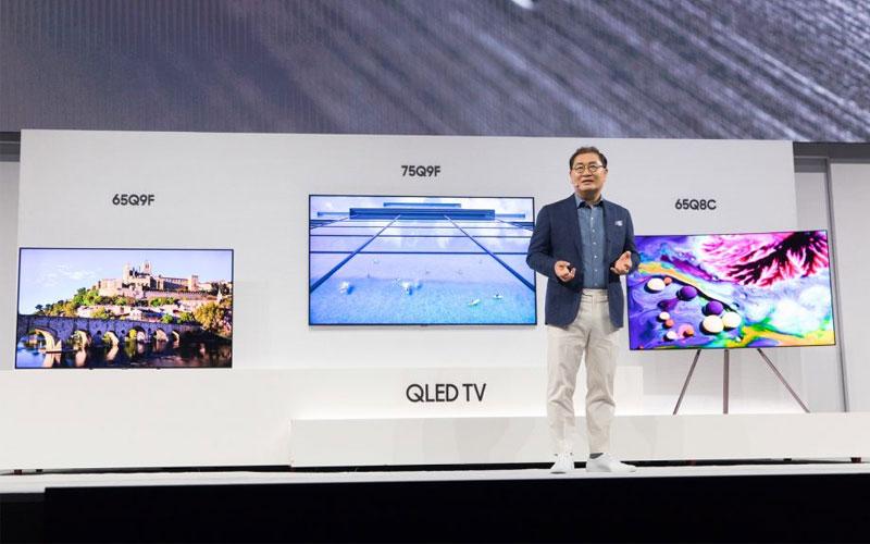 Thế hệ TV QLED 2018 vừa được Samsung trình làng vào đầu tháng 3 vừa qua đã nhanh chóng gây chú ý mạnh cho thị trường điện tử nghe nhìn