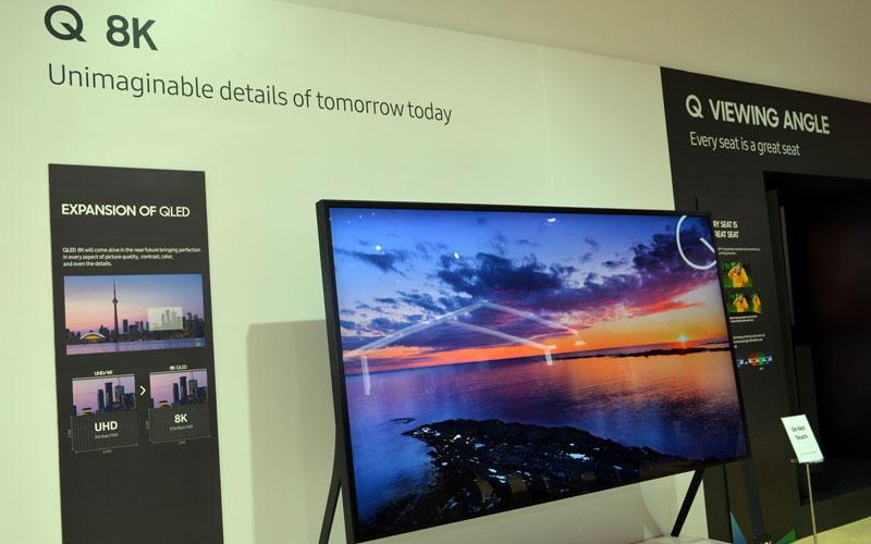 Màn hình 8K QLED TV sẽ sớm xuất hiện