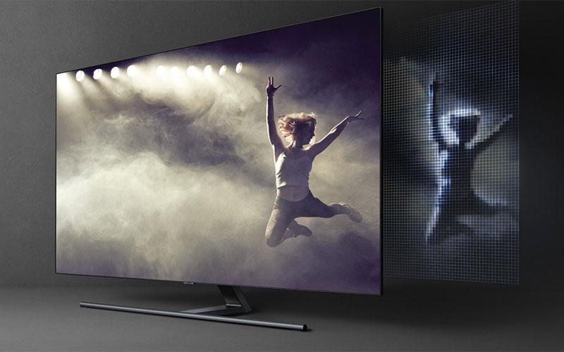 Hệ thống đèn LED với khả năng điều khiển chính xác sẽ mang đến độ tương phản nguyên gốc trên mọi hình ảnh hiển thị trên màn hình