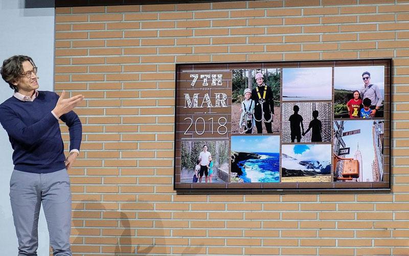 Tivi biến thành bức tranh treo tường tuyệt đẹp nhờ Ambient Mode