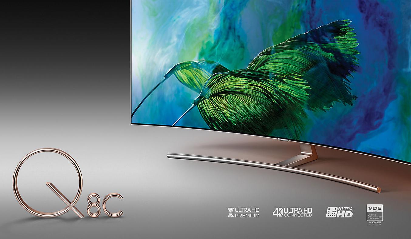 Tivi QLED Samsung QA75Q8CAMKXXV với 1 tỷ màu sắc ấn tượng