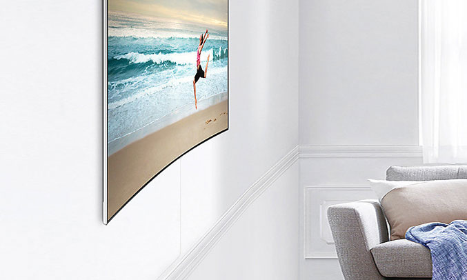 Tivi QLED Samsung QA75Q8CAMKXXV đẳng cấp, sang trọng