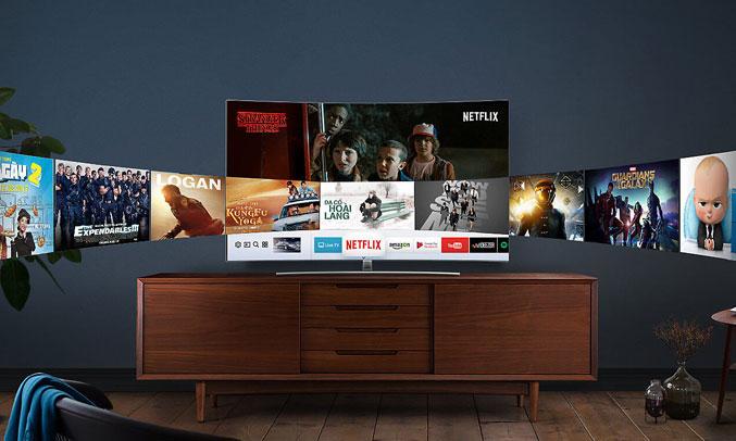 Tivi QLED Samsung QA75Q8CAMKXXV hình ảnh sắc nét