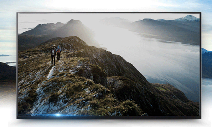 Tivi Sony 49 inches KDL-49W750E VN3 hình ảnh chuyển động mượt mà