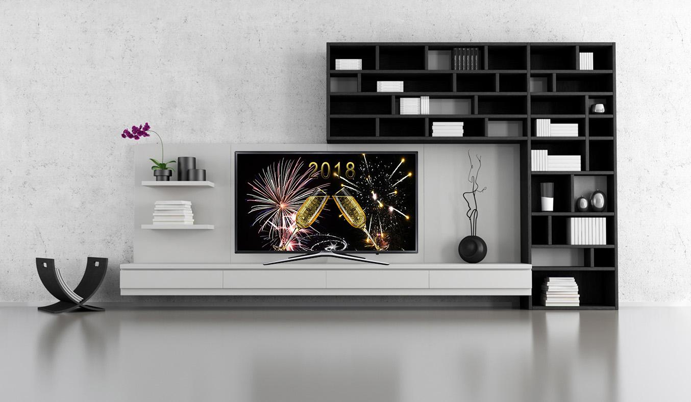 Tivi Samsung LED Full HD UA49M5500AKXXV với màu sắc ấn tượng