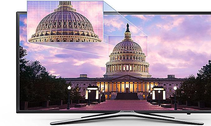 Tivi LED Samsung Full HD UA49M5500AKXXV có độ tương phản ấn tượng
