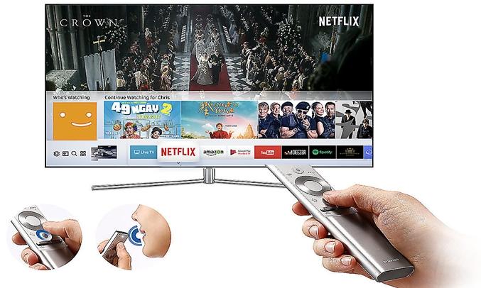 Tivi LED Samsung UA49M5500AKXXV có kho ứng dụng phong phú