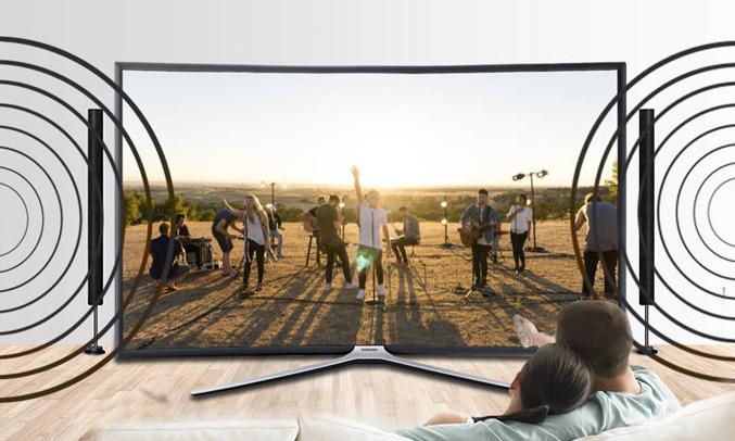 Tivi LED Samsung 49 inch UA49MU6300KXXV âm thanh mạnh mẽ