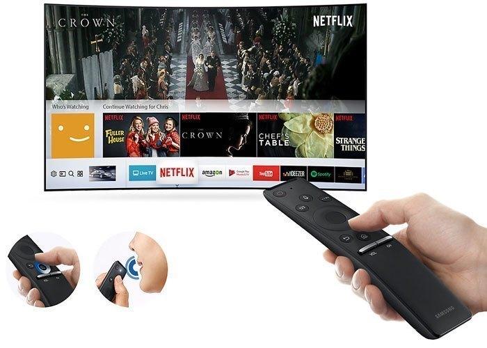 Tivi LED Samsung UA55M6300AKXXV cho khả năng điều khiển dễ dàng thông qua One Remote