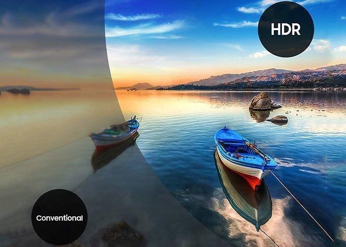 HDR mang lại khả năng hình ảnh đầy ấn tượng.