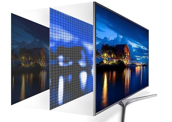 Tivi LED Samsung UHD UA55MU6400KXXV 55 inches cho hình ảnh thật trung thực