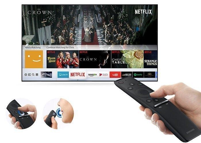Tivi LED Samsung UA55MU6400KXXV 55 inches cho khả năng điều khiển dễ dàng thông qua One Remote