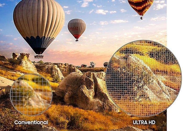 Tivi LED Samsung UHD UA55MU6500KXXV 55 inches màn hình 55 inches phân giải UHD