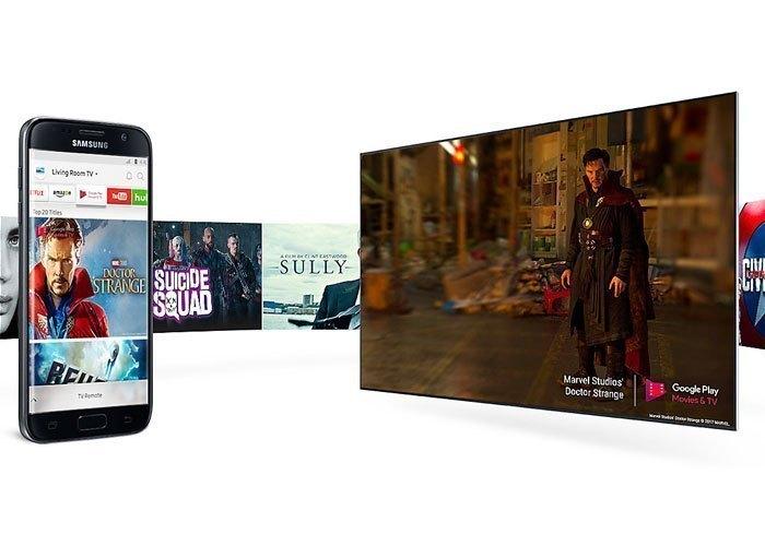 Điều khiển và chia sẻ hình ảnh dễ dàng trên tivi LED Samsung UA55MU6500KXXV 55 inches
