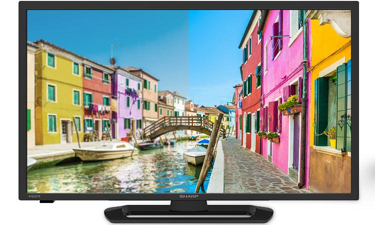 Hình ảnh của Internet tivi 32 inch Sharp LC-32LE375X thể hiện thực chân thực, sắc nét và hoàn hảo