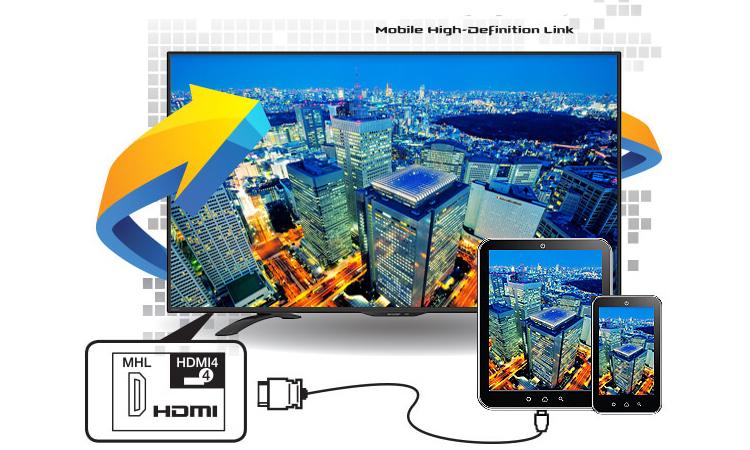 Thưởng thức hình ảnh đầy màu sắc cùng Internet tivi 32 inch Sharp LC-32LE375X