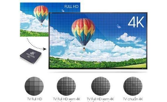 """Tivi LED Sharp LC-50UA440X trang bị màn hình 50"""" Ultra HD"""