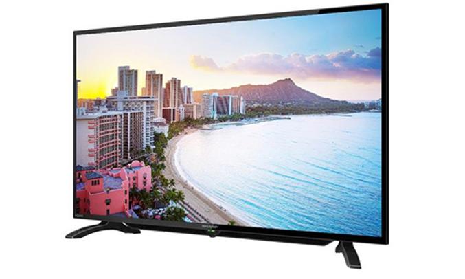 Internet tivi Sharp 40inch LC-40LE380X thiết kế thanh mảnh