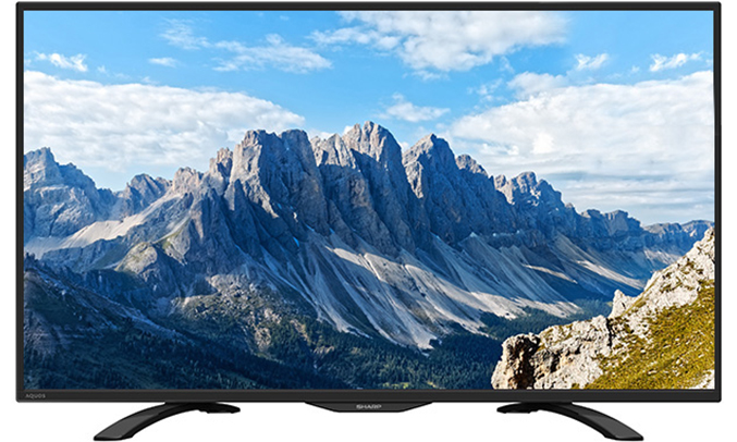 Tivi LED Sharp 45' LC-45LE380X thanh mảnh