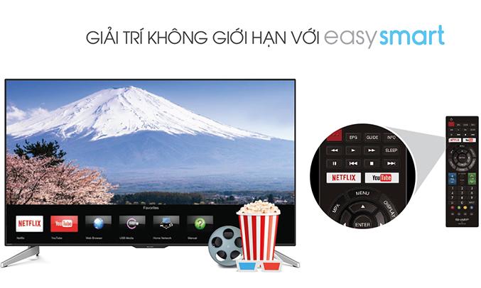 Tivi LED Sharp 45' LC-45LE380X hình ảnh chân thực