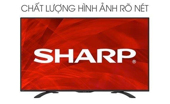 Tivi LED Sharp 45 sở hữu thiết kế ấn tượng