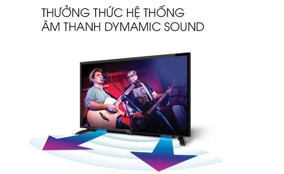 Tivi LED Sharp 45 có chất lượng âm thanh ấn tượng