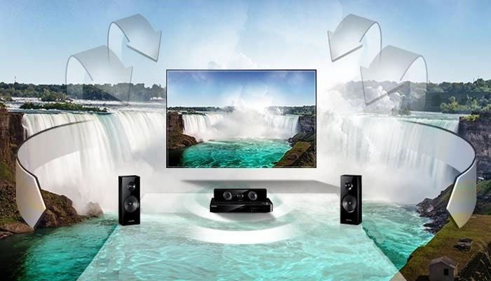 Trải nghiệm âm thanh sống động từ mọi hướng trên tivi Sharp