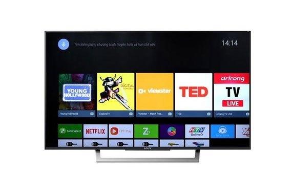 Smart tivi 43inch Sony KD-43X7500E màn hình full HD siêu mỏng gọn, giá tốt tại nguyenkim.com
