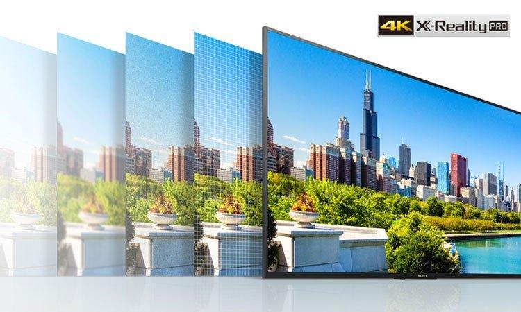 Smart tivi 43inch Sony KD-43X7500E hình ảnh sắc nét đến từng chi tiết