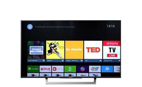 Smart tivi 49inch Sony KD-49X7500E màn hình full HD siêu mỏng gọn, giá tốt tại nguyenkim.com