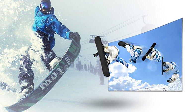 Smart tivi 65inch Sony KD-65X7000E hình ảnh chuyển động nhanh siêu nét, mượt mà