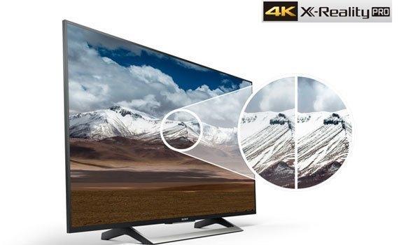 Tivi 4K Sony 43 inch KD-43X8000E VN3 bền đẹp giá tốt tại Nguyễn Kim