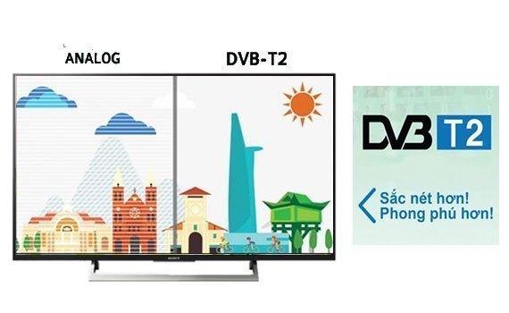 Tivi 4K Sony 43 inch KD-43X8000E VN3 có đầu thu kĩ thuật số