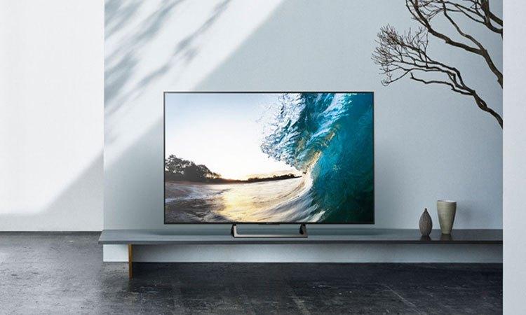 Smart tivi 4K 55 inch Sony KD557000E đắm chìm trong thiết kế siêu mỏng ấn tượng