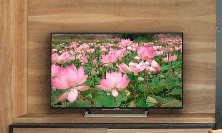 Smart tivi 4K 55 inch Sony KD557000E kết nối tối giản phù hợp với mọi không gian