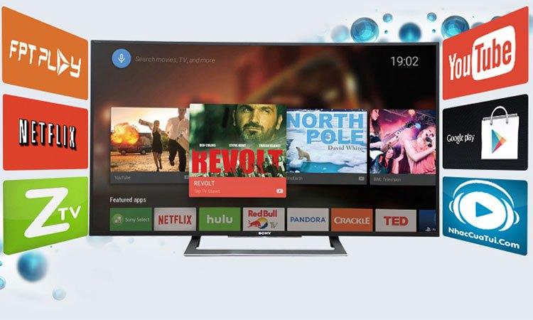 Smart tivi 4K 55 inch Sony KD557000E giải trí bất tận