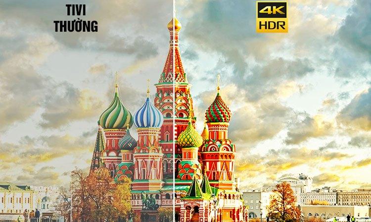 Smart tivi 4K 55 inch Sony KD-55X8500E hình ảnh chi tiết đến ngỡ ngàng