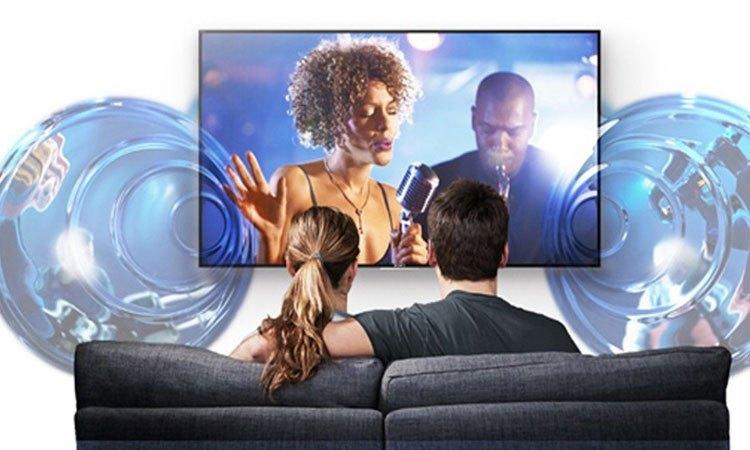 Smart tivi 4K 55 inch Sony KD-55X8500E âm thanh chất lượng hoàn hảo